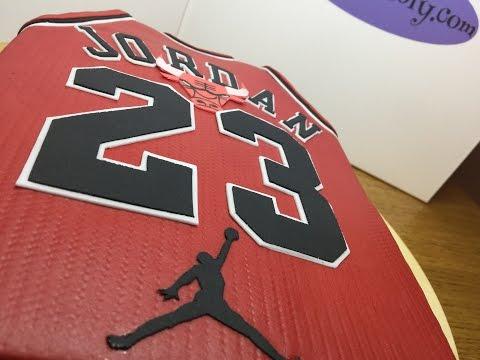 gâteau Maillot Michael Jordan chicago bulls 23