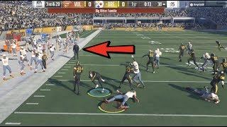 Mike Tomlin WALKS ONTO THE FIELD DURING THE PLAY! Madden 18 Ultimate Team Gameplay