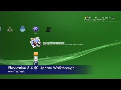 Playstation 3 4.50 Update: Auto Download & Hide Trophies