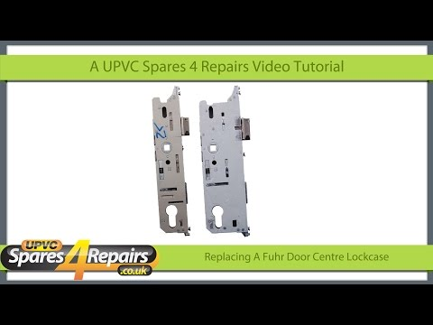 Replacing A Center Lockcase on a Fuhr Upvc Door Gearbox