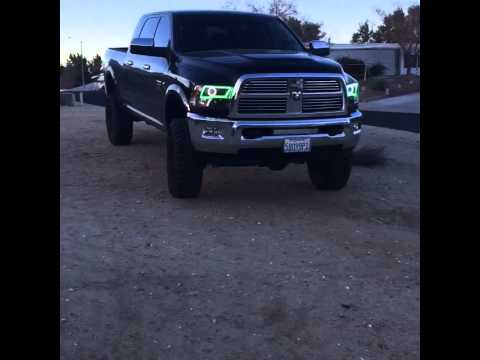 Colormorph headlights for my 4th gen ram