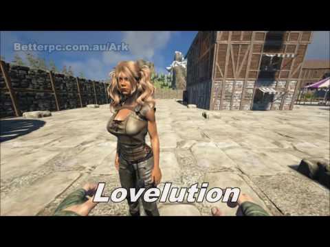 Ark Survival Evolved: Cute Hair Showcase