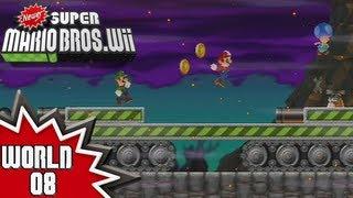 Newer Super Mario Bros  Wii - World 7 (1/2) - PakVim net HD