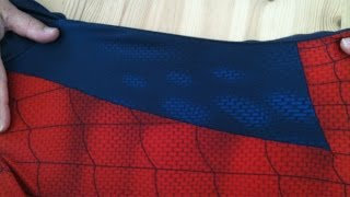 Making The Perfect Spidey Suit - Sewing the Pattern — Tutorial