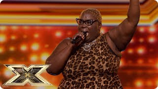 Burgandy Williams Wants Respect With Aretha Franklin Hit  Auditions Week 2  The X Factor Uk 2018