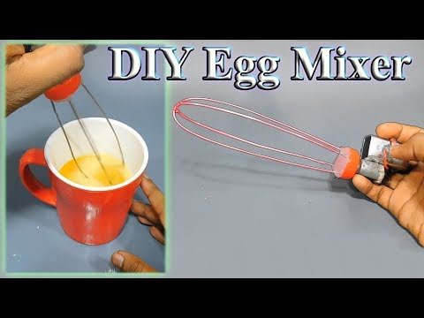 Diy mixer / egg mixer / tee and coffee mixer | Homemade mixer | how to make mixer | stupid engineer