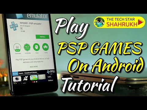 PSP Games on Android | PPSSPP Tutorial | Hindi - हिंदी
