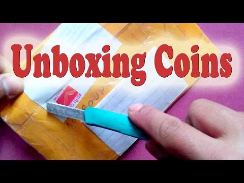 Unboxing Coins, Rare 50 paise commemorative coins INDIA