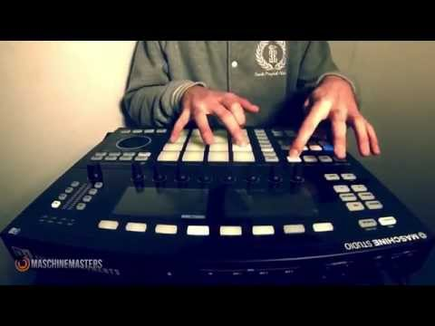 Making the Beat Ep. 23 w Maschine Studio (Live Freestyle)