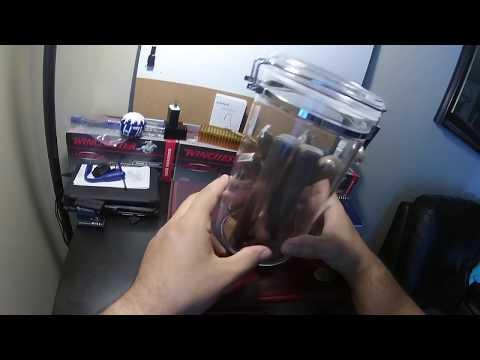 Acrylic Jar Desktop Humidor