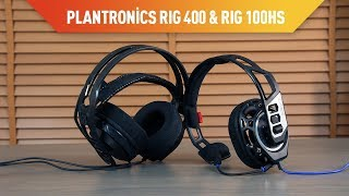 Plantronics RIG 400 & RIG 100HS Oyuncu Kulaklığı İncelemesi