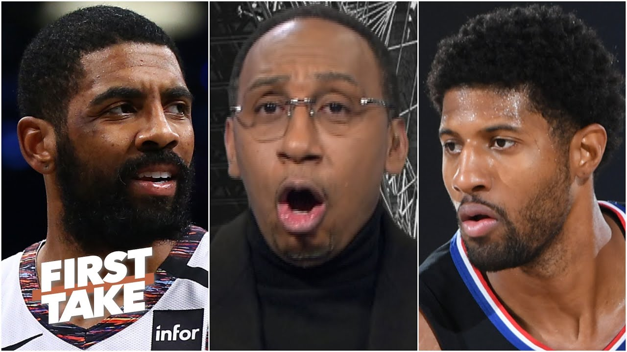 Stephen A.: Kyrie Irving & Paul George will be the most scrutinized players this season | First Take