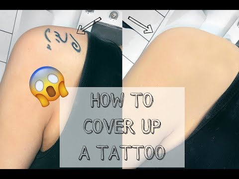 HOW TO COVER UP A TATTOO WITH MAKEUP