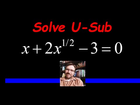 Solve an Equation Quadratic in Form