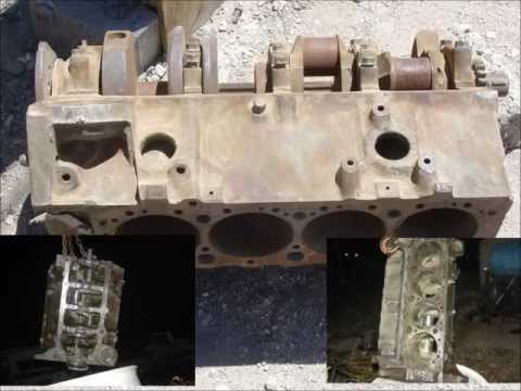 how to Remove rust from anything, so easy Chevy engine proof