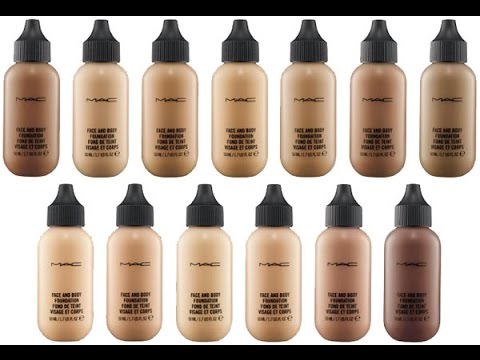 MAC Face & Body Foundation | First Impression + Review