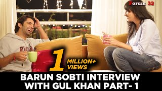 Barun Sobti Interview with Gul Khan Part 1   Iss Pyaar Ko Kya Naam Doon  bir garip aşk
