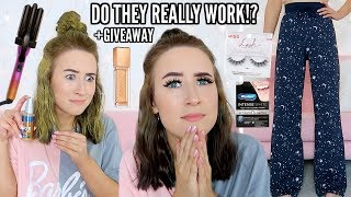 I Bought EVERY Product From Youtubers SPONSORED Posts For A Week…