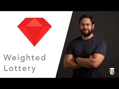 Build a Weighted Lottery in Ruby