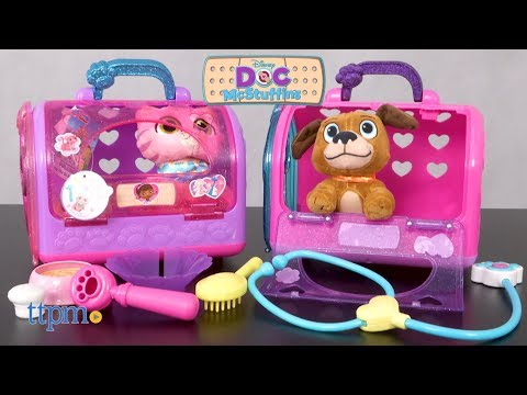 Doc McStuffins Toy Hospital On The Go Pet Carrier from Just Play