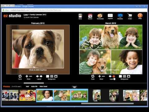 Make a Photo Calendar Online