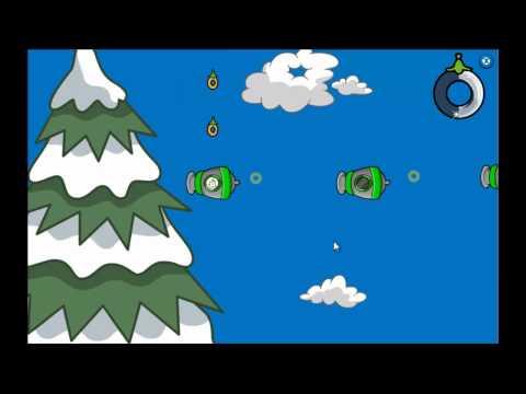 Club Penguin - Puffle Launch Blue Sky  Level 6
