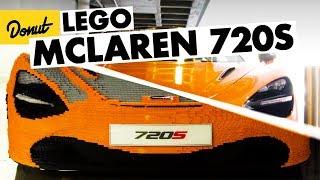Life Size McLaren 720s - Built out of LEGO Bricks