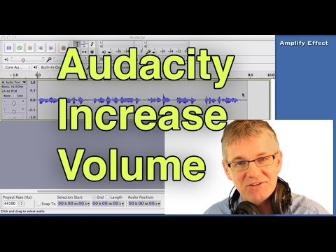 Audacity Increase Volume Tutorial - How to Increase Volume in Audacity - Edit