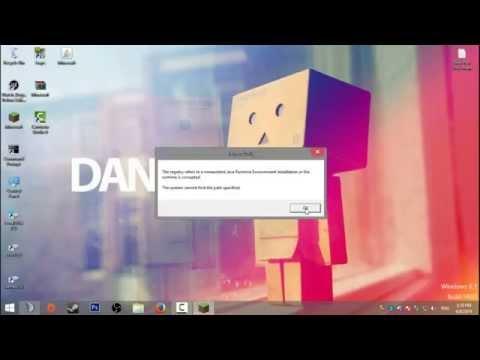 Minecraft launch4j java runtime Fix