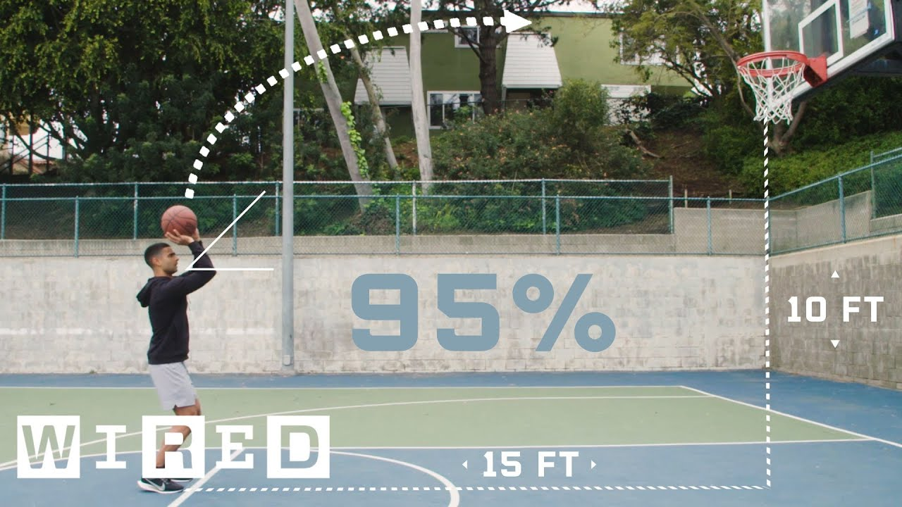 Why Shooting 95% From the Free-Throw Line Is Almost Impossible (ft. Steve Nash)   WIRED