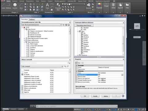 Ripristinare Interfaccia Classica (Displaying the Classic Toolbars) AutoCad 2015-16-17-18