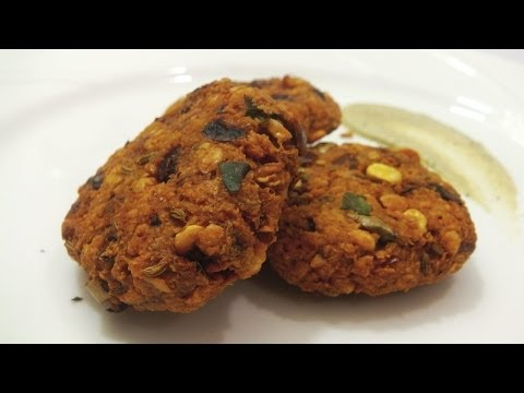 Masala Vada Recipe - South Indian Snack
