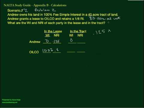 NALTA STUDY GUIDE Scenario 2 Prob 2