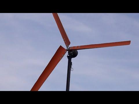 How to make homemade wind turbine pcv pvc DIY Śmigła do elektrowni wiatrowej