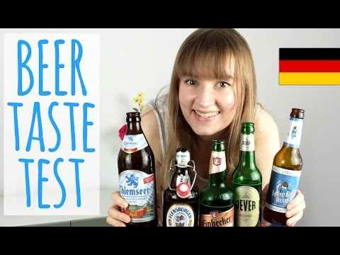 Trying German Beer for the First Time