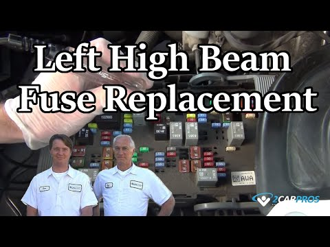 Left High Beam Fuse Replacement