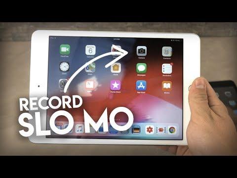 How to Get Slo Mo on iPad Camera