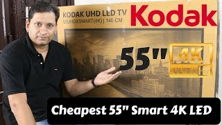 Kodak 55 Inch UHD 4K TV Unboxing & Review | Happy Diwali :)