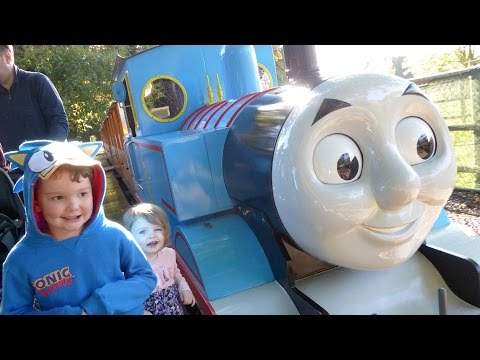 Thomas Land at Drayton Manor Theme Park ALL RIDES