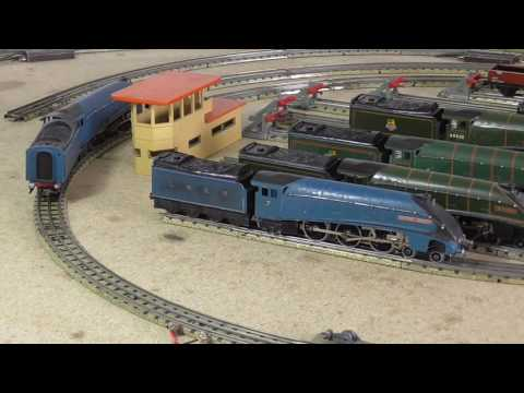 HORNBY DUBLO - LINDUM No. 3 A4s and Wiring. PART 1