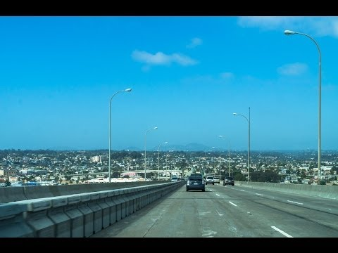 13-34 San Diego #1 of 5: The Coronado Island Bridge & More