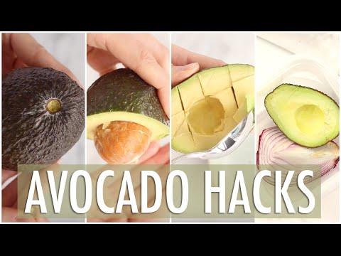 EASY Avocado Hacks | Avocado How To & Tips