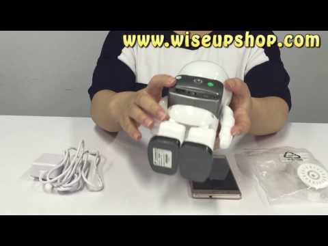 WISEUP How to set up WIFI-Controlled Robot Camera (Model Number: WIFI 27)