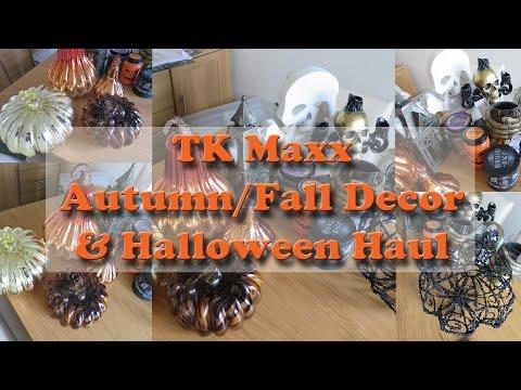 TK Maxx Autumn/fall Decor and Halloween Haul