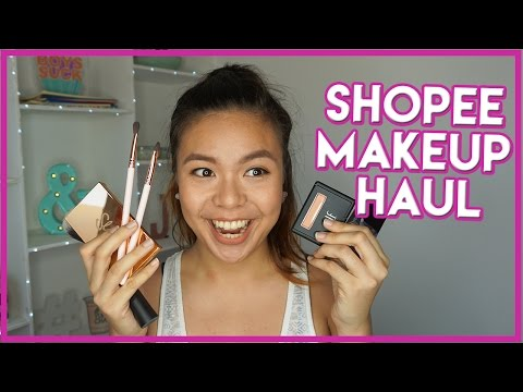Huge Shopee Makeup Haul! (Philippines) | Jo Sebastian