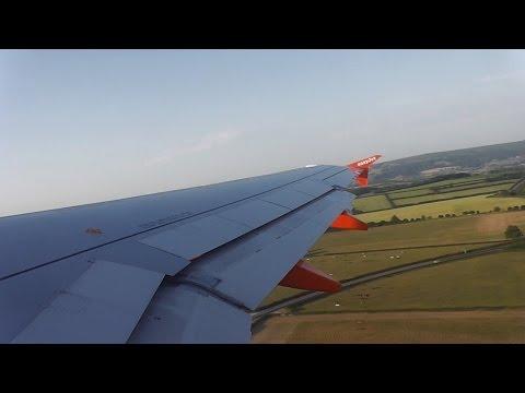 easyJet Airbus A320 G-EZUJ - Bristol to Edinburgh *Full Flight*