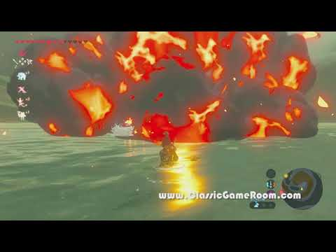 Classic Game Room - THE LEGEND OF ZELDA: BREATH OF THE WILD review