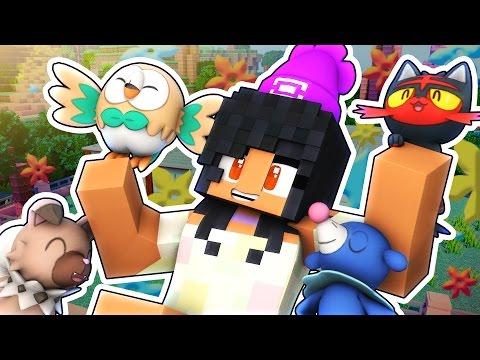 Alola Pokemon!   Pokemon Sun and Moon Minecraft Roleplay Adventure!