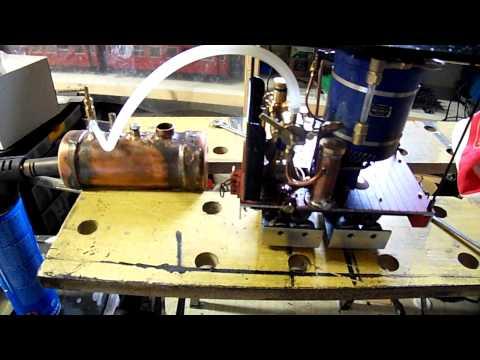 Test boiler