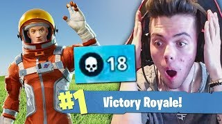 MY MOST KILLS *EVER* On Fortnite Battle Royale